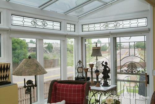 Dallas stained glass window gallery stained glass dallas for Transom windows