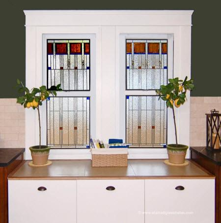 Stained glass for your home options for any room for Stained glass kitchen windows