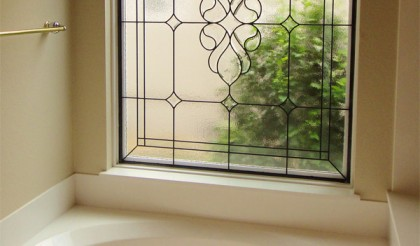 Bathroom Stained Glass Dallas