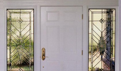 entryway-stained-glass-door-sidelights-carrollton-texas