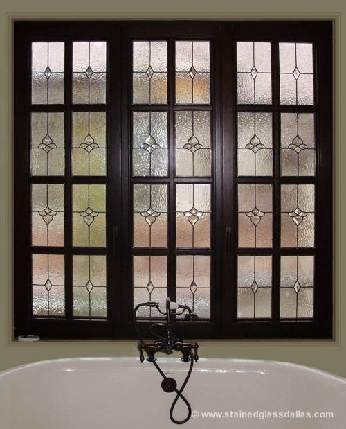 Bathroom Window Stained Glass Designs Dallas