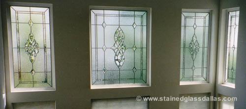 Transom Stained Glass Windows Dallas