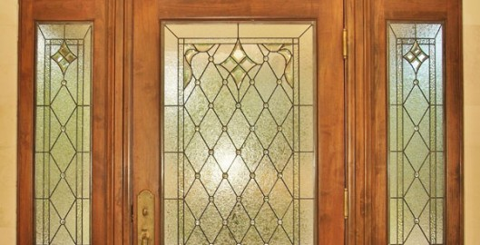 Stained Glass Entryway Dallas