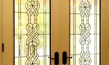 celtic-stained-glass-door-design