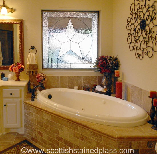 5 brilliant ideas for bathroom stained glass in your for Sports themed bathroom ideas