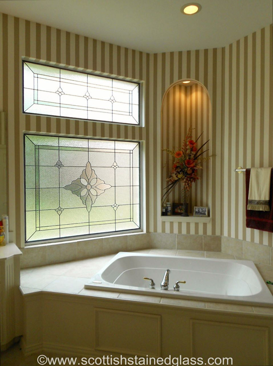 Five Excellent Ideas For Using Stained Glass In Your Bathroom