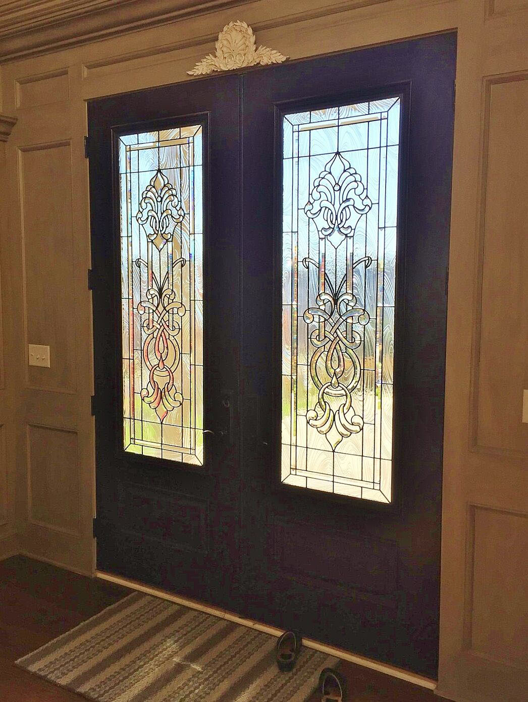 Entryway stained glass dallas