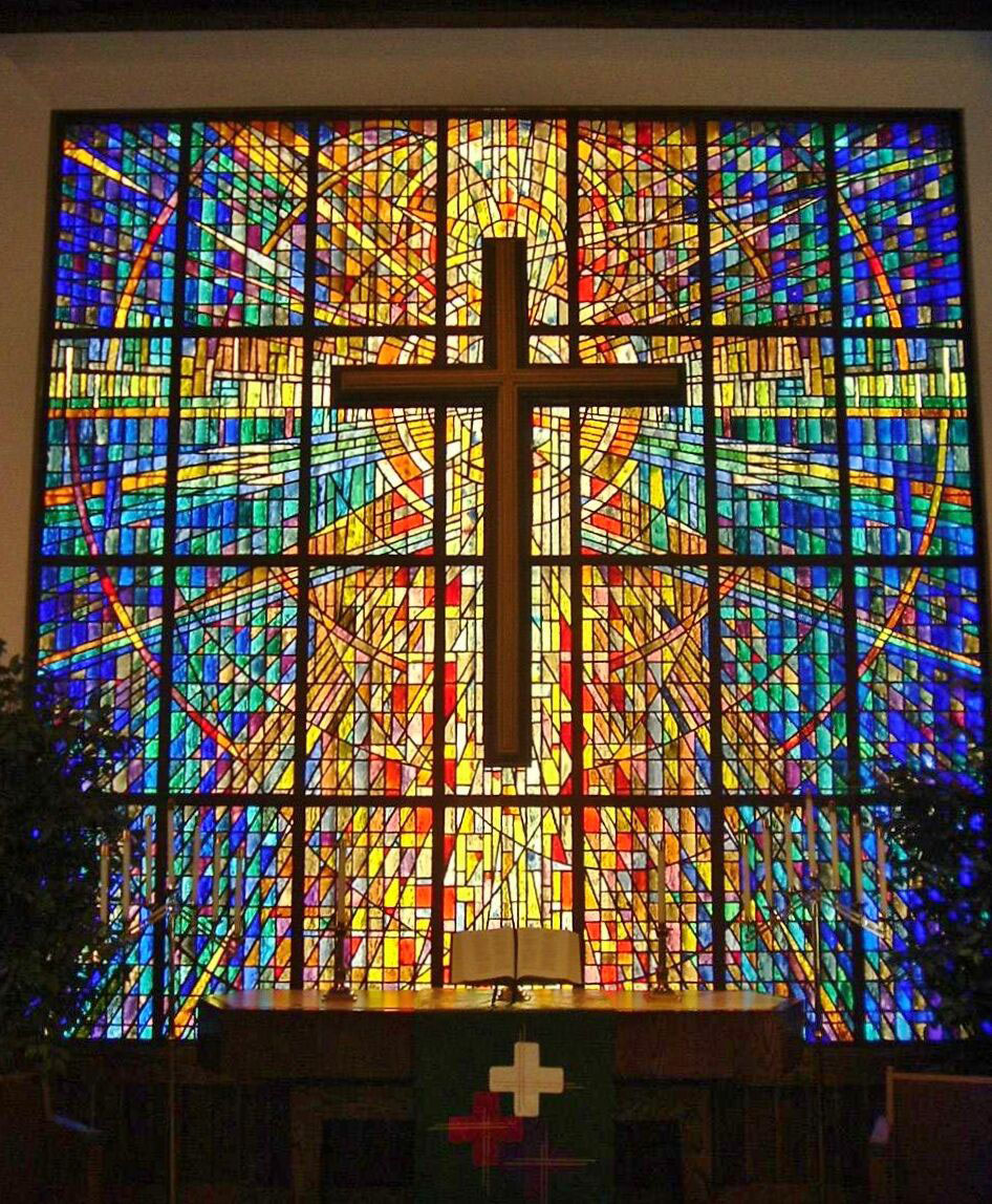 Cross Church Stained Glass