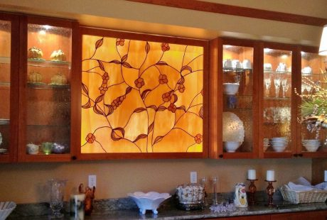 dallas kitchen stained glass
