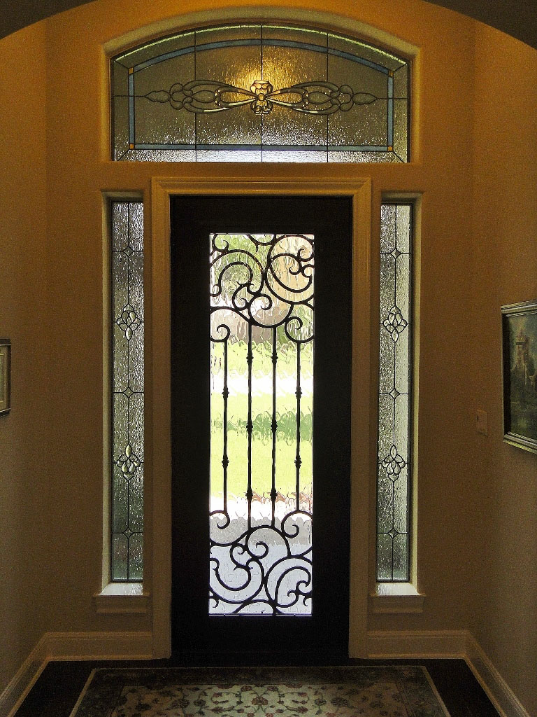 Stained Glass Door Amp Sidelights Dallas Stained Glass Dallas