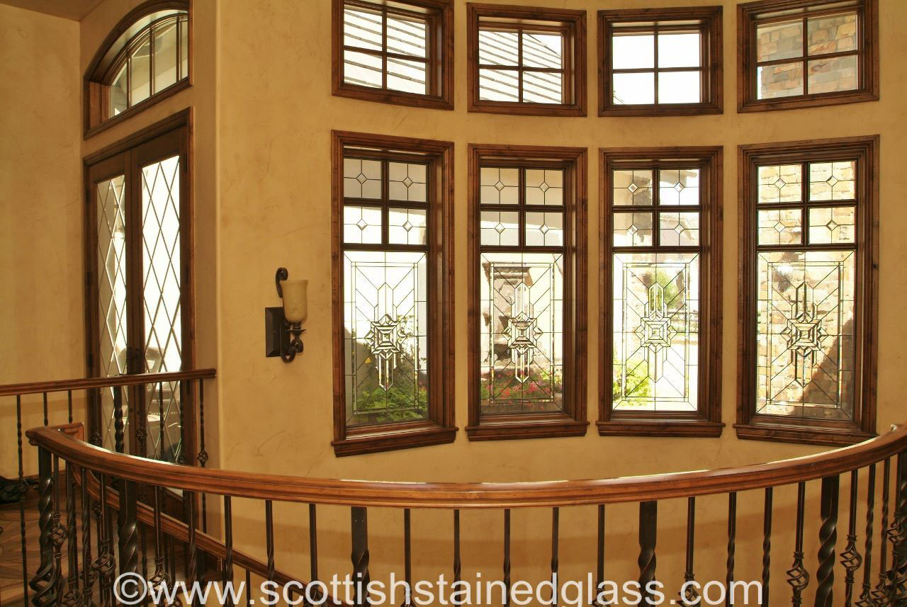 dallas texas transom stained glass