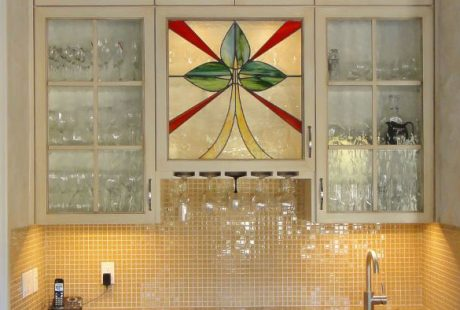 kicthen stained glass dallas