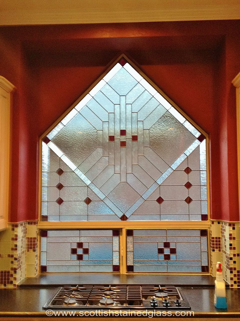 kitchen design stained glass dallas