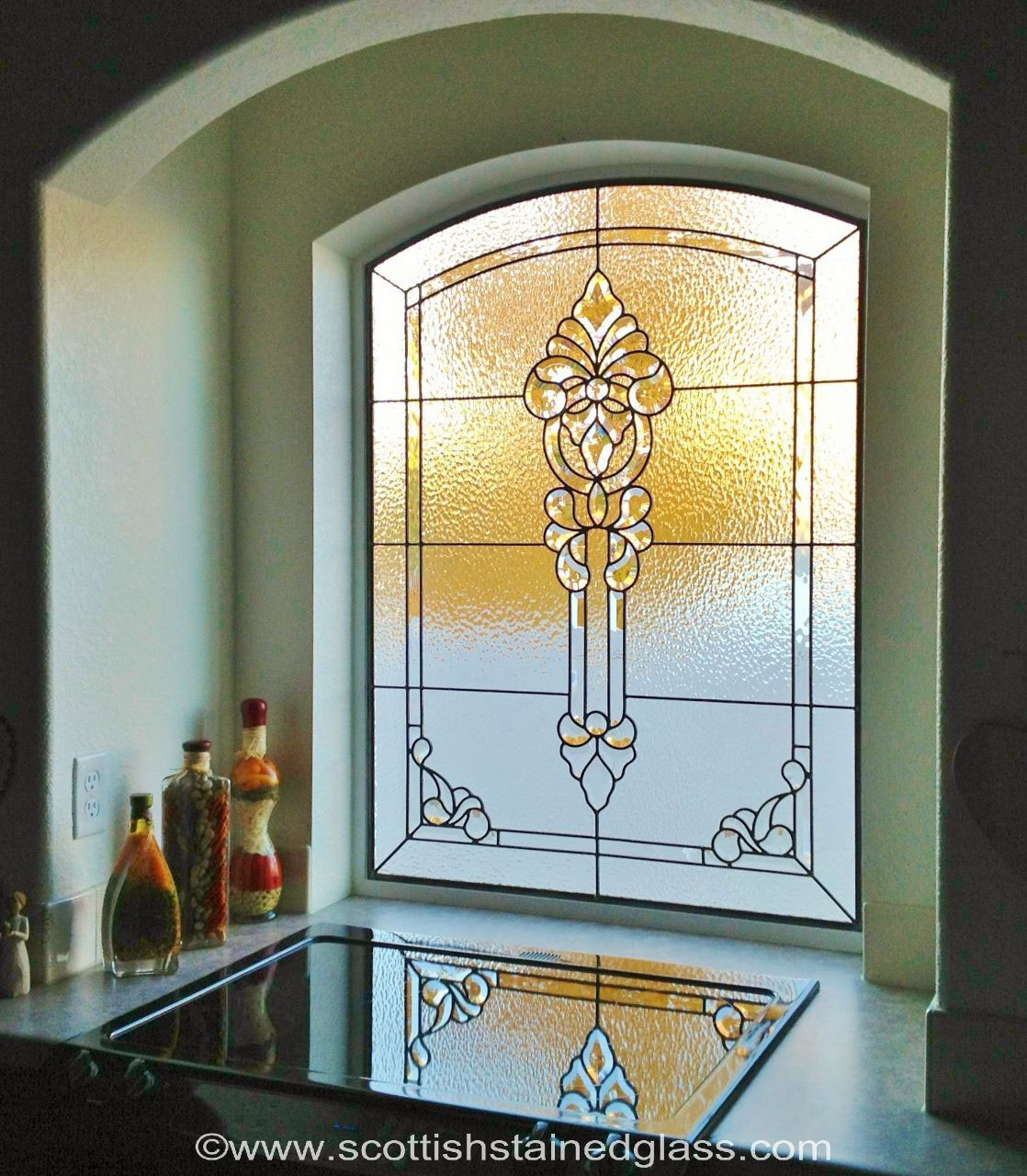 kitchen stained glass design dallas