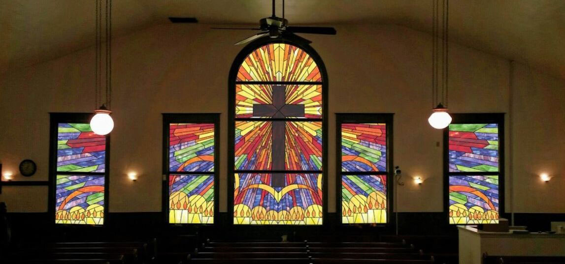 religious stained glass dallas texas church